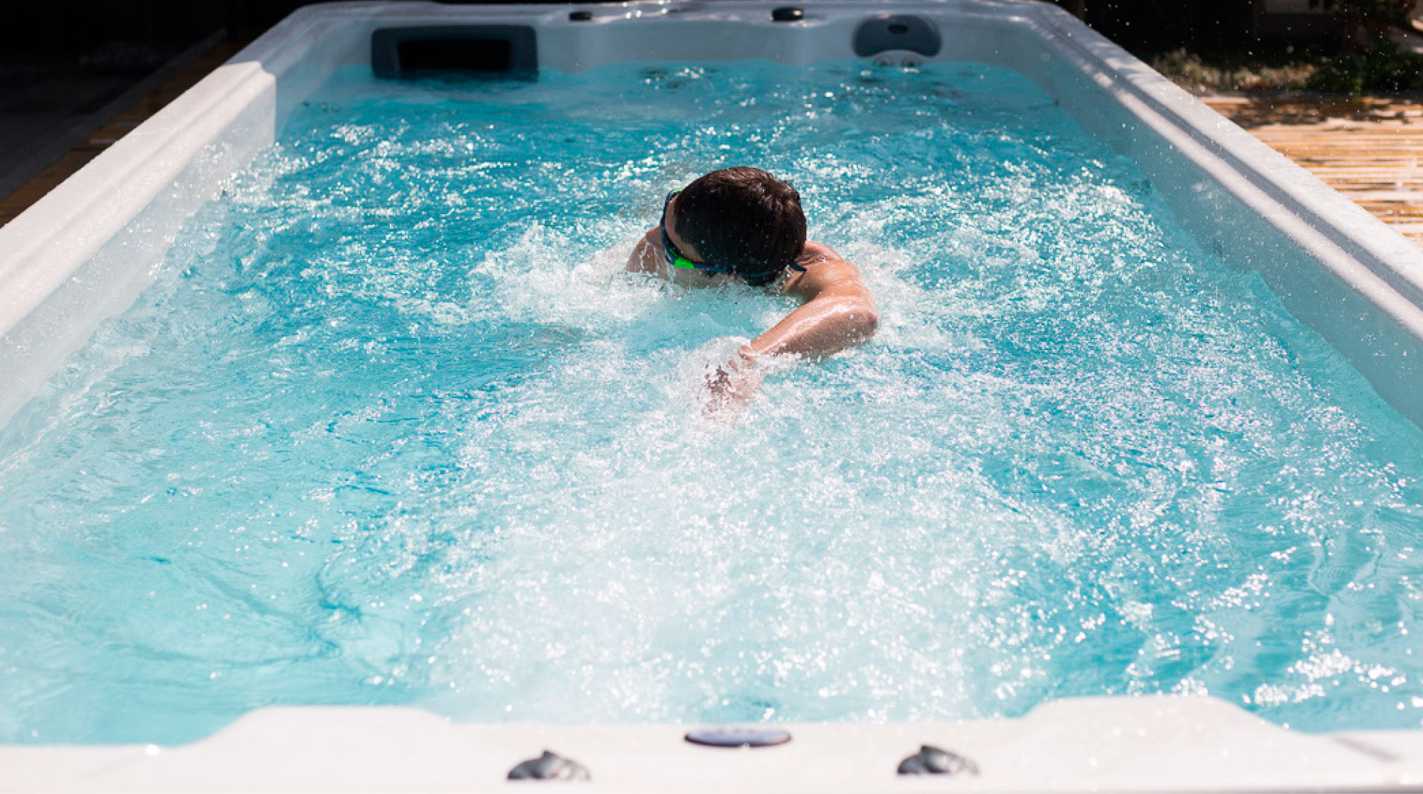 EP swim spas are perfect for working out.