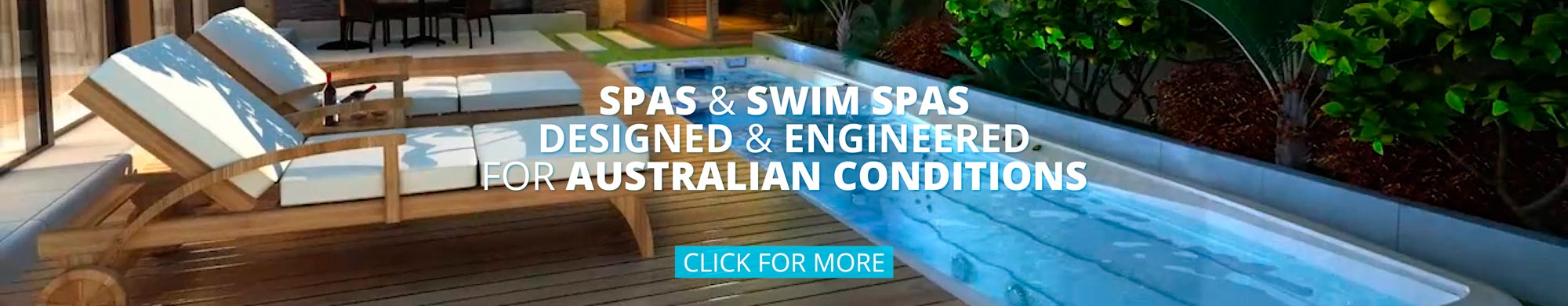 SpaChoice Spas and Swim spas are Engineered for Australian Conditions