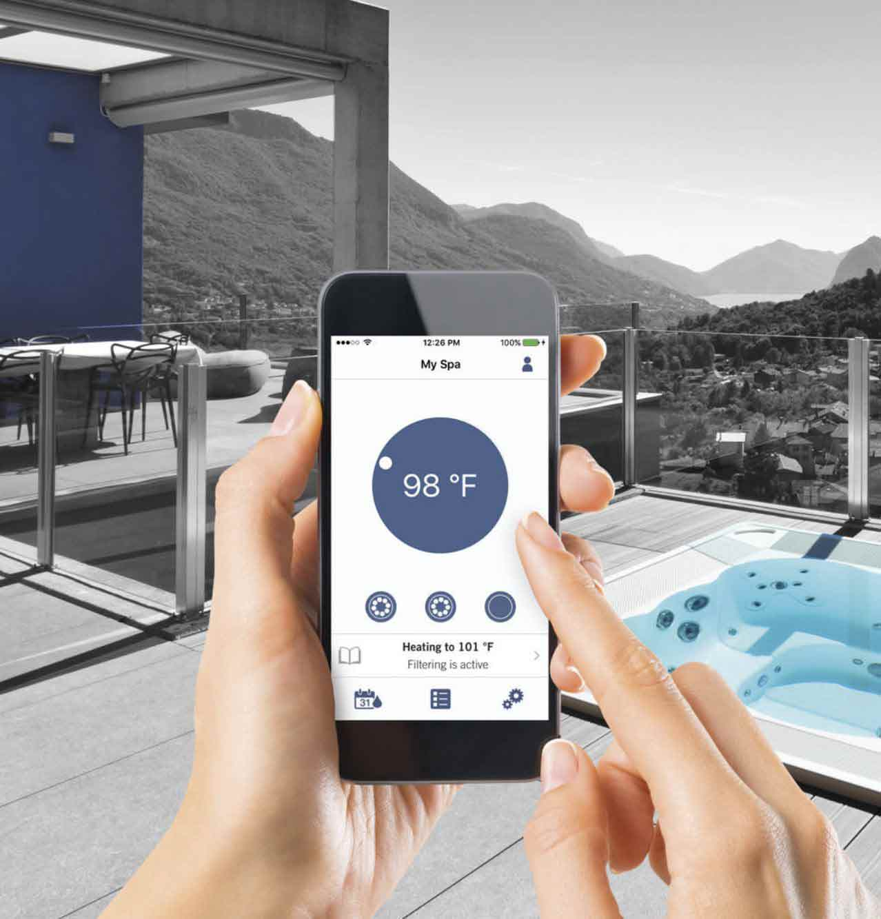 Gecko In Touch is the ultimate wireless remote control for your spa