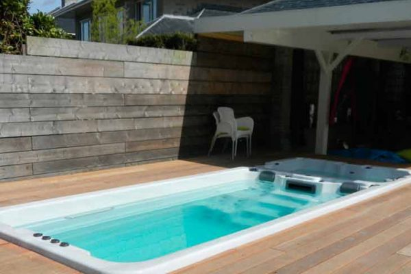 SpaChoice Swim Spa Dual Zone In Deck