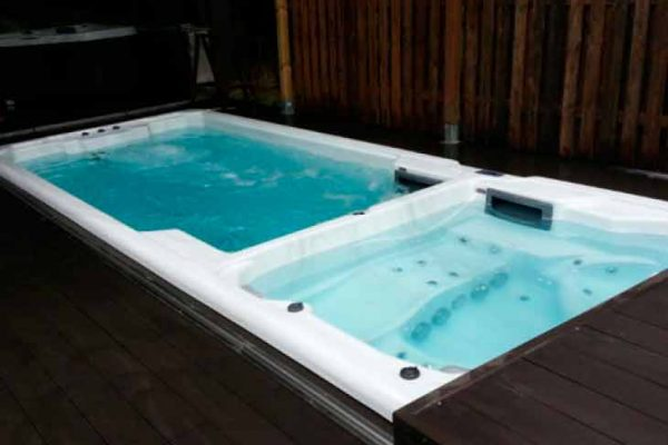 SpaChoice Swim Spa Dual Zone With Electric Cover